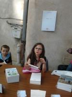 2 futurs grands lecteurs, Estelle et Alexandre